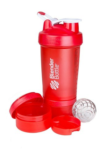 BlenderBottle ProStak (Rot) - 650ml