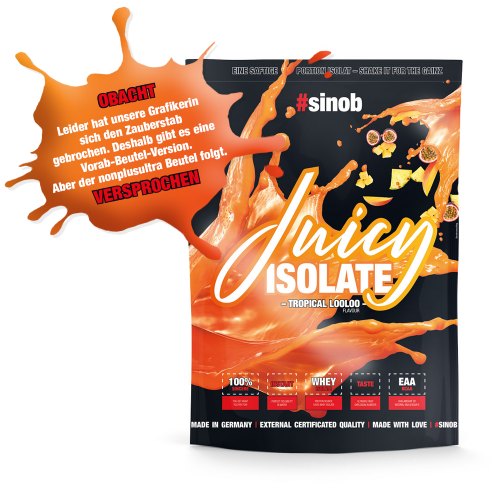 Sinob Blackline Juicy Isolat 1000 g