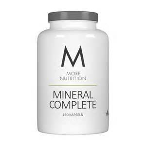 More Nutrition Mineral Complete