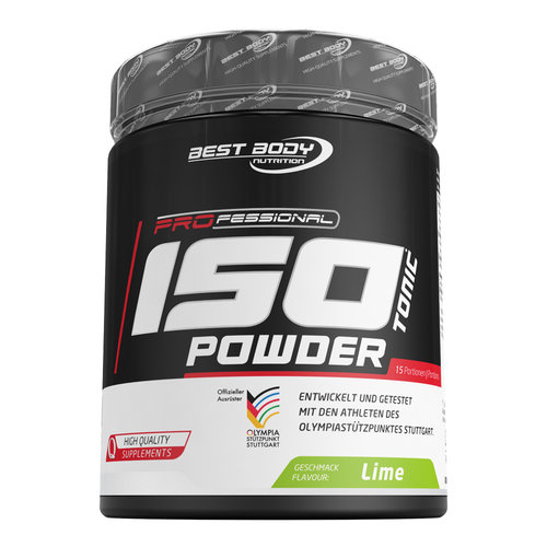 BestBody Nutrition Isotonic Powder Limette 600 g