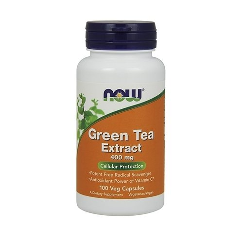 NOW Green Tea Extract 400mg 100 Kapseln